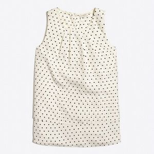 J Crew Factory printed tiered tank top